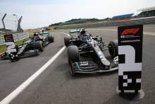 F1 70th Anniversary Grand Prix 2020 - Starting Grid