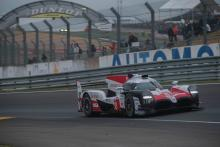 Buemi pulls #8 Toyota clear from sister car