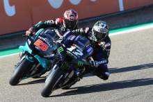 Maverick Vinales, Fabio Quartararo Aragon MotoGP. 16 October 2020