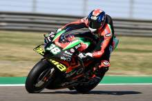Aprilia: Bradley Smith 'not happy', but hope he stays