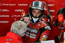 Dall'Igna on Dovizioso: 'I'm sorry when a rider makes such criticisms'