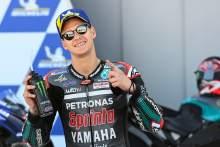 Fabio Quartararo, Aragon MotoGP. 17 October 2020