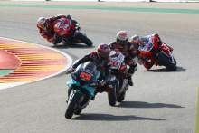 Fabio Quartararo , MotoGP race, Aragon MotoGP. 18 October 2020
