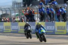 Vinales: Two laps closing my eyes to chase down Mir