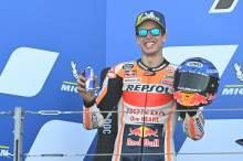 Alex Marquez, Aragon MotoGP race. 18 October 2020