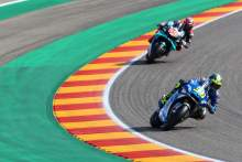 Joan Mir, Fabio Quartararo , Teruel MotoGP. 23 October 2020