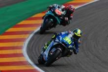 Joan Mir, Fabio Quartararo , Teruel MotoGP. 23 October 2020