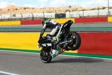 Cal Crutchlow, stoppie, Teruel MotoGP, 23 October 2020