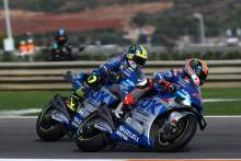 Alex Rins Joan Mir , MotoGP race, European MotoGP, 8 November 2020