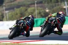 Lorenzo Savadori, Aleix Espargaro Portuguese MotoGP. 20 November 2020