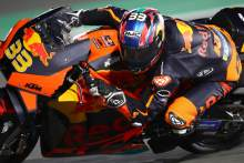 Two crashes for Brad Binder as first MotoGP test of 2021 comes to a close