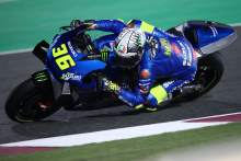 Joan Mir Qatar MotoGP test, 6 March 2021