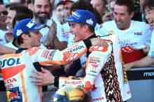 Pedrosa: Marquez satu pembalap, masih dua lainnya naik podium…
