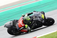 Crutchlow 'still fast', but corner entry 'worse'
