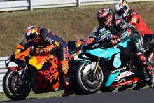 Pol Espargaro , Fabio Quartararo , French MotoGP. 10 October 2020