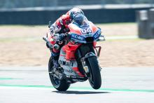Friday pacesetter Dovizioso warns 'we're in a good way'