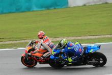 Demoted Marquez 'didn't see' Iannone