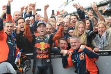 Espargaro: Emotions for KTM podium stronger than winning world title