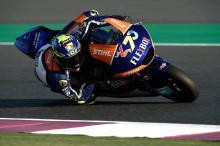 Moto2 Qatar: Baldassarri blasts ahead in Friday practice
