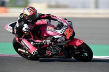 Moto2 Misano: Di Giannantonio on fire for career first pole