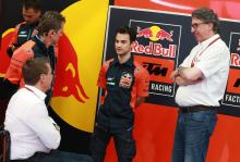 KTM: We had a conversation with Dani, but…