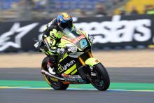 Moto2 Le Mans: Navarro takes back-to-back poles despite fall