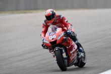 Dovizioso edges Marquez in FP1 as MotoGP summer break ends