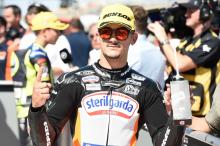 Moto3 Aragon: Immaculate Canet claims pole in style