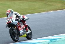 Moto3 Motegi: Antonelli picks up the pace for pole