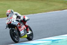 Moto3 Motegi: Antonelli picks up the pace for pole
