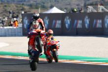 Miller: I'll probably be in the lead by the first corner…