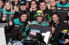 Moto2 Valencia: Navarro takes home pole in style