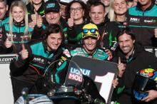 Moto2 Valencia: Navarro takes home pole in style