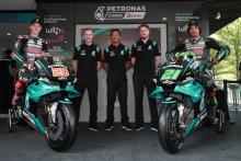 Petronas Yamaha unveils 2020 MotoGP team colours