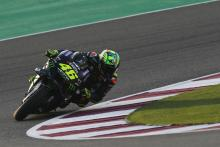 Rossi 'quite fast', but 'a little worried'