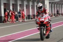 Dovi 'would have been quick in Qatar', favourite?