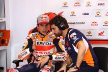 First races 'almost like tests' for Marquez, Honda