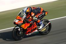 Fernandez beats McPhee to lead Qatar Moto3 warm-up