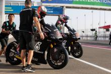 Moto2: Vierge 'happy', Dixon 'needs more laps'