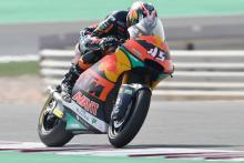 Nagashima edges Navarro in Qatar Moto2 warm-up