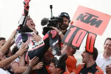 'Incredible race' - Arenas hands KTM 100th win
