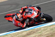 Petrucci 'seeing stars' after oil spill fall