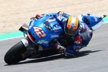 Alex Rins out of Spanish MotoGP with shoulder fracture-dislocation?