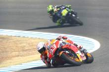 Rossi: Title not over for Marquez