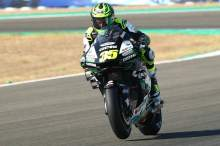 Cal Crutchlow 'gritting teeth' but says it's possible to ride