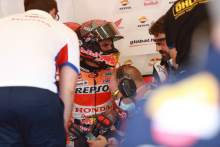 Marc Marquez withdraws, replaced by Bradl