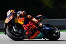 Pol brushes off 'best bike' talk, KTM tests 'in rules'