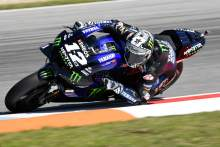 Vinales 'same problems as Brno', Rossi 'it's difficult'
