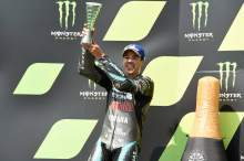 Morbidelli breaks MotoGP podium duck, thanks 'big uncle' Rossi