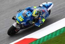 Mir tops morning warm-up ahead of Austrian MotoGP